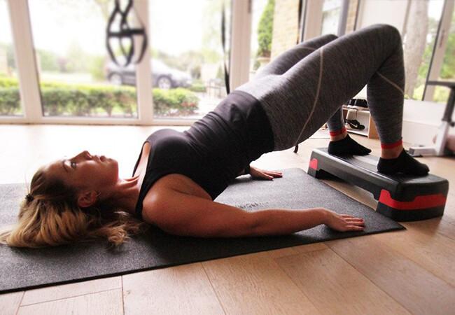 Glute bridges for lower back pain
