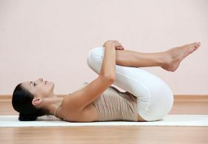 knees to chest for lower back pain